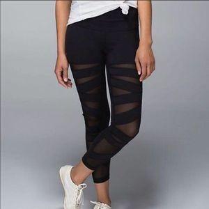 Lululemon Mesh Cross Leggings